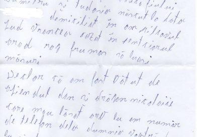 Negoiță Costică/ încarcerat la Penitenciarul Arad. De ce a scos Certificat Medico-Legal?