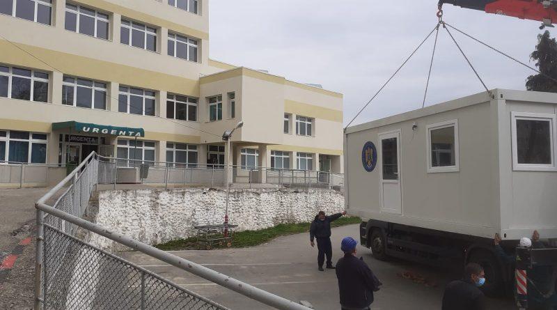 Trei noi construcții ușoare din elemente modulare vor fi recepționate de spitalele din Hațeg și Brad și de Sanatoriul de Pneumoftiziologie din Brad.