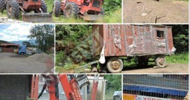 Garda forestieră a sancționat și a confiscat lemn de la firma S.C MIR TRANSCOM S.R.L