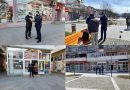 Acțiune a Polițiștilor și a Jandarmilor, municipiul Petroșani este în carantină./VIDEO