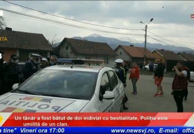 Un tânăr a fost bătut de doi indivizi cu bestialitate, Poliția este umilită de un clan. / VIDEO