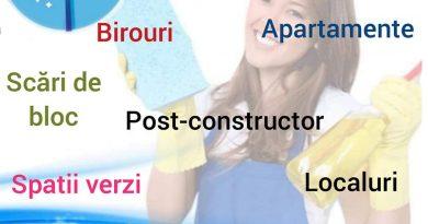 Firmă de curățenie din Petroșani City Clean Prest
