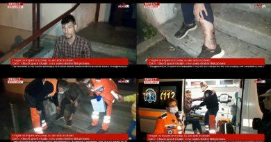Imagini cu impact emoțional, nu are acte medicale. Cei în măsură ignoră situația, omul poate rămâne fără picioare./VIDEO