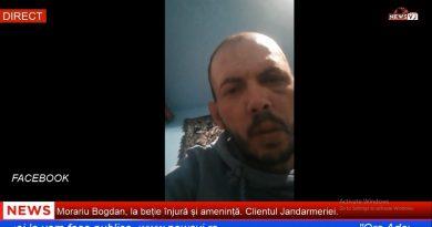 Morariu Bogdan, la beție înjură și amenință. Clientul Jandarmeriei / VIDEO