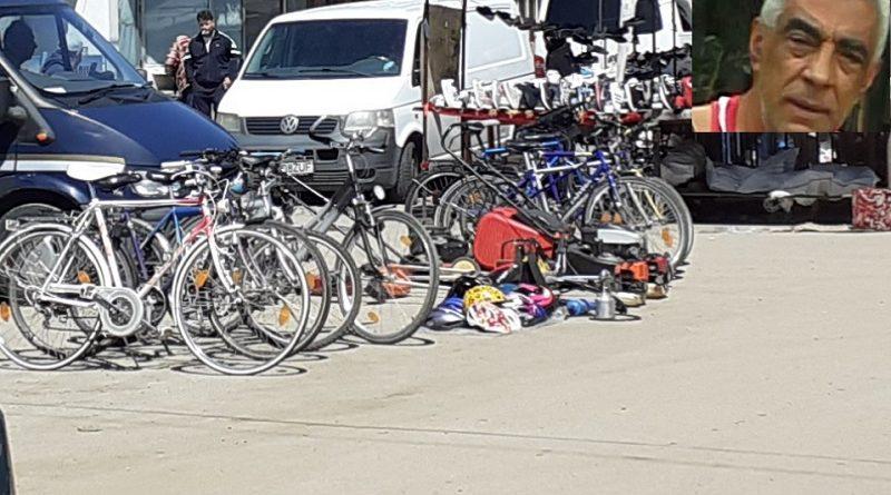 Drujbe și biciclete de vânzare în Piața Centrală, nu deține acte pe marfă dar la lăsat administrația piețelor să vândă