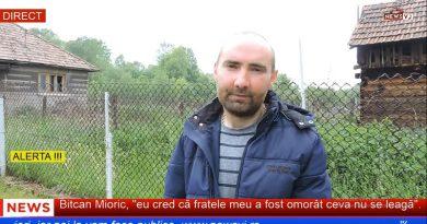 """Bitcan Mioric, """"eu cred că fratele meu a fost omorât ceva nu se leagă"""" / VIDEO"""