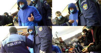 Deranjați de prezența polițiștilor. Dacă Poliția nu a găsit ce trebuia, hoții au avut grijă / VIDEO