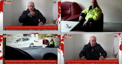 """Mitică, """"în Uricani există un polițist ce lucrează la rutieră și terorizează participanții în trafic, predă lecții de legislație""""/VIDEO"""